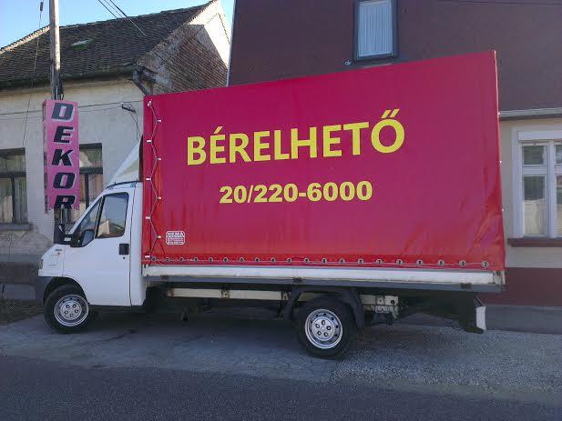 Bérelhető teherautó Székesfehérváron